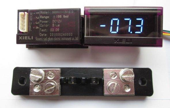 12 В мини DC амперметр-Измерители-ID товара::499304522-russian