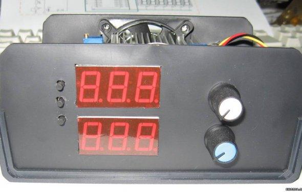 Активная нагрузка с амперметром до 100А - Изучаем микроконтроллеры