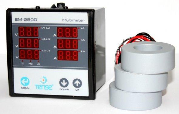 Амперметр 120А электронный на DIN-дин рейку переменного тока, цена