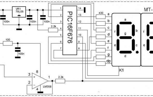 цифровой вольтметр амперметр постоянного тока