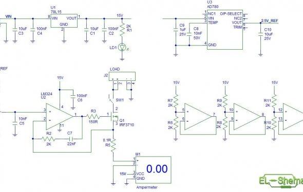 Электронный амперметр - Амперметр - Аксессуары и комплектующие