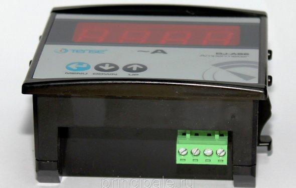 Электронный амперметр TENSE щитовой панельный 96х96 мм цена