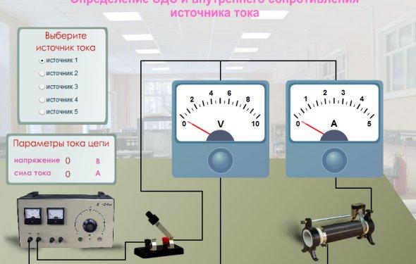 Физпрактикум: Новая виртуальная интерактивная работа Определение