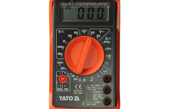 Купить Многофункциональный тестер напряжения Yato YT-73080 в Киеве