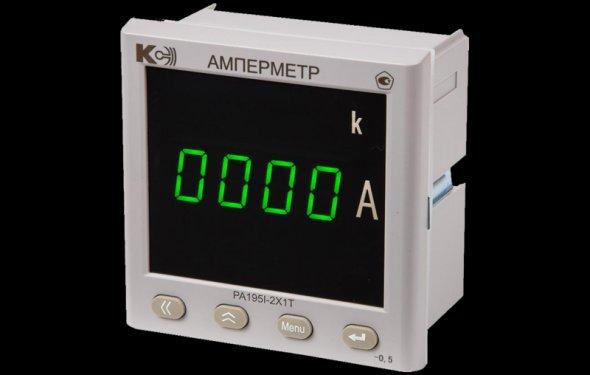 Купить PA195I-2X1T Цифровой амперметр для постоянного тока