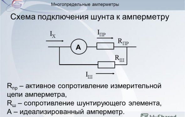 Многопредельный амперметр своими руками