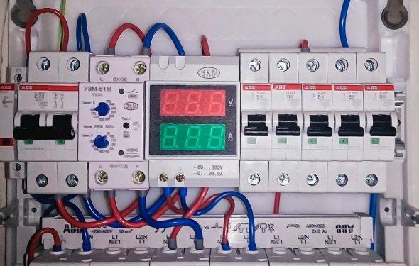 Монтаж амперметра/вольтметра - описание, характеристики цена. Купить