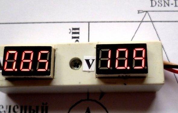 Переделка цифрового вольтметра в амперметр