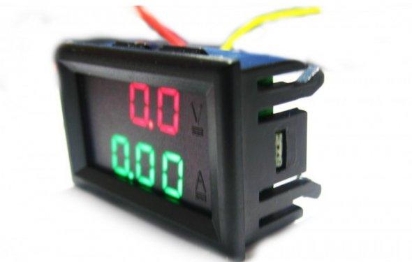 Подключение вольтамперметра - Diodnik