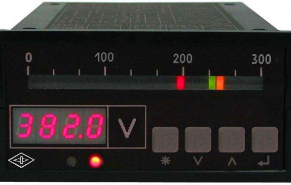 Щитовые цифровые приборы постоянного тока | Модуль-С