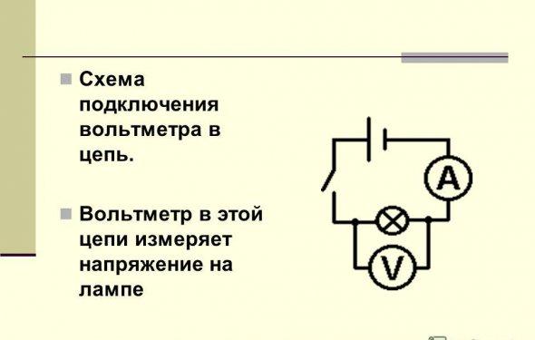 Вольтметра - Схемы для Вас!